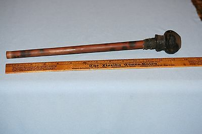 Antique SE Asia Opium Pipe 13.5 Inches Hmong, Hill Tribe, Laos