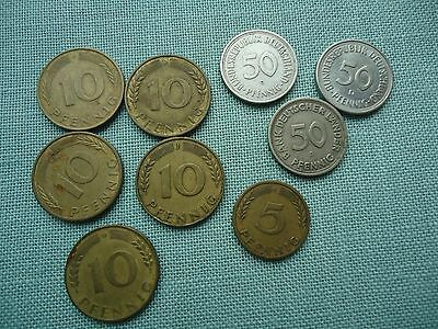 Lot of German coins