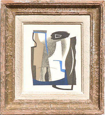 John Piper Framed Lithograph Invention In Colour 1937 Edition 1000