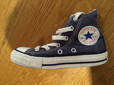 Converse All Star Classic, Chidrens, Size 10, Blue/White, Hardly Worn