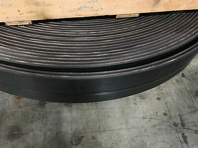 "6"" wide, 2ply x 3/16"" x 1/16"", Rubber Conveyor Belt - Quantity 1 = 1 foot"