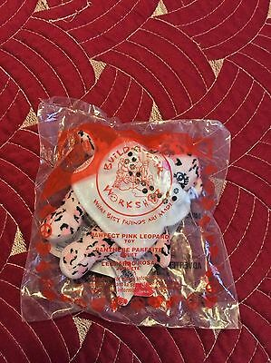 Mcdonald's Build A Bear Pawfect Pink Leopard New In Bag #5