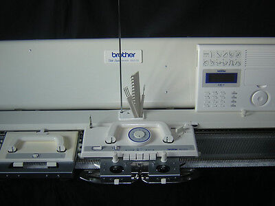 Brother electroknit knitting machine KH-970 brilliant white