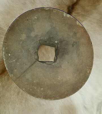 Primitive  Grinding Stone Grist Mill Wheel found in South GA