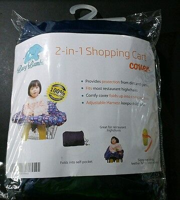 Busy Bambino 2-in-1 Shopping Cart Cover for Baby