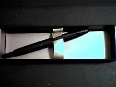 Pilot Vanishing Point Collection Fountain Pen, Matte Black Barre 18K 750 New