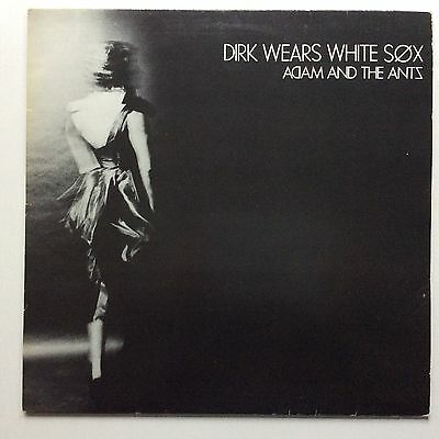 Adam And The Ants 'dirk Wears White Sox' 1979 Uk 1St A1/b1 Press Lp Ex Min Play