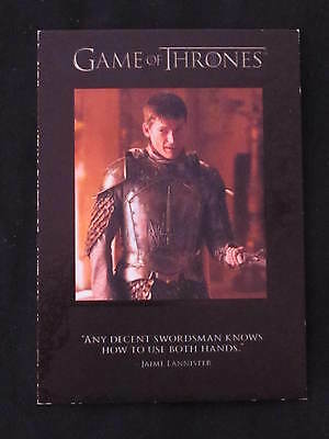 Game of Thrones Insert Card Quotable Q31 *WOW*