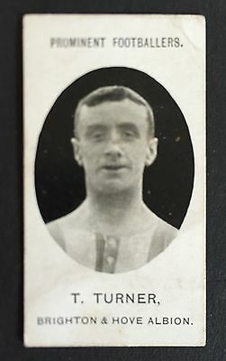 Taddy Footballers 1907 Tom Turner Brighton & Hove Albion
