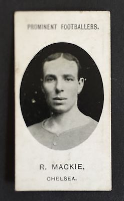 Taddy Footballers 1907 Bob Mackie Chelsea Leicester Hearts Darlington Airdrie