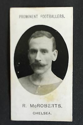 Taddy Footballers 1907 Bob McRoberts Chelsea Birmingham Airdrieonians Albion Rov