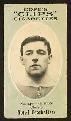 Cope's Clips 1910 Football George Hilsdon Chelsea West Ham United England