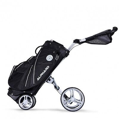 4 Wheel Push/Pull Cart By Alphard That Converts Into Riding Cart Bag