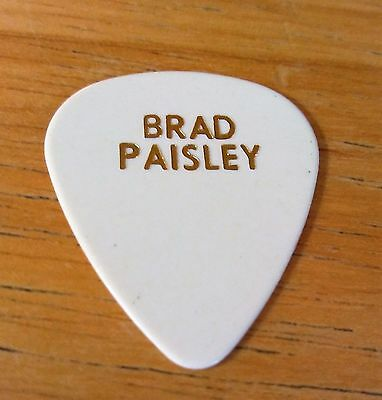 BRAD PAISLEY 2012 Reality Tour Guitar Pick!!! Brad's custom concert stage Pick