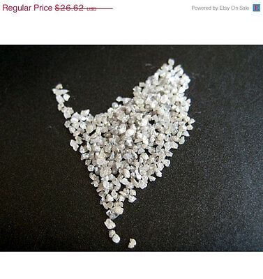 5 Carats Drilled White Chips Loose Uncut Rough Diamond Raw Chips 1-2mm PU74