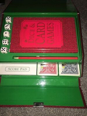 Vintage The Ultimate Dice And Card Game Compendium New And Unused