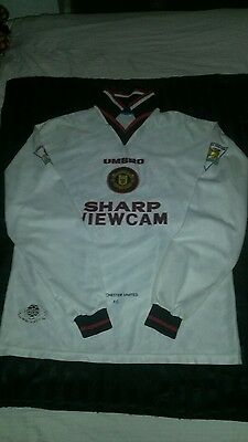 RARE Manchester united shirt 96-97 long sleeved