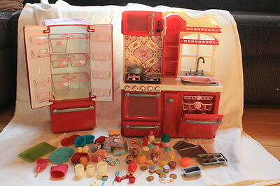 Our Generation Doll Kitchen Set with Extras