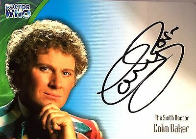 Strictly Ink Definitive Series 3 Autographed Card By Colin Baker (Au1)