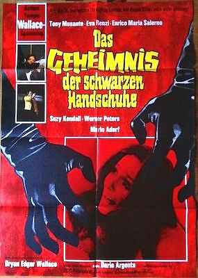 The Bird With The Crystal Plumage Original Poster Argento Giallo