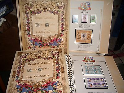 Royal Wedding H.r.h Prince Charles & Lady Diana Spencer 1981 Stamp Collection