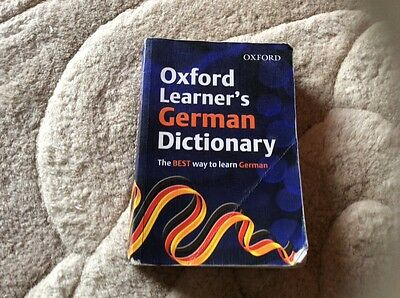 Oxford learners German dictionary