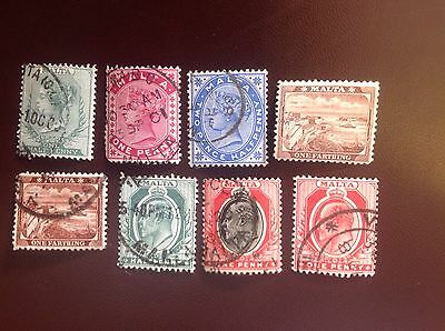 Malta Victorian & Edward VII Selection Used