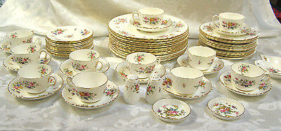 61 Minton Marlow China Pieces, Place Settings & More