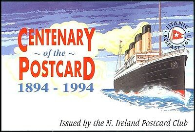 "Postcard -   ""centenary Of The Postcard 1894 - 1994 ""  -  Unposted -  Issue 710"