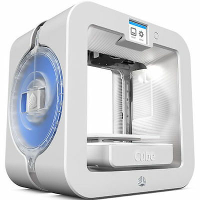 3D Systems Cube 3D Wireless Printer, 3rd Generation (White),392200, windows ,mac