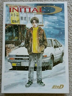 Initial D Young Magazine Special Puzzle 1000 Pieces AE86 Takumi