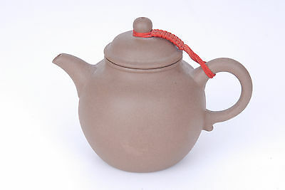 Chinese Yixing Pottery Teapot pale brown clay standard teapot shape