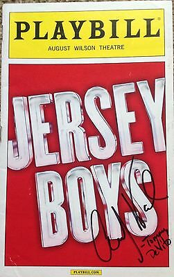 JERSEY BOYS Playbill signed by Andy Karl LEUKAEMIA CHARITY AUCTION