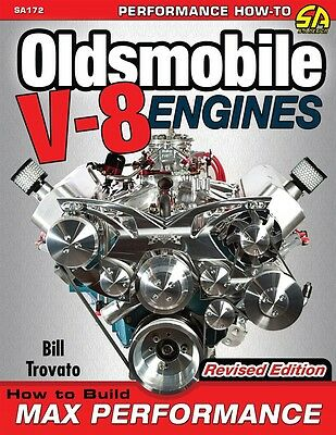 Build Max Performance Oldsmobile 455 425 403 400 350 330 307 Olds Engine book