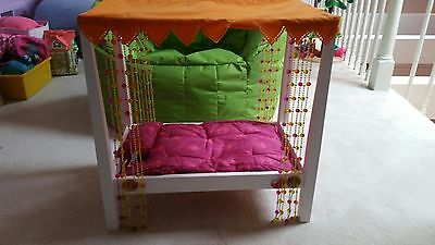 American Girls Doll Canopy Bed - Retired