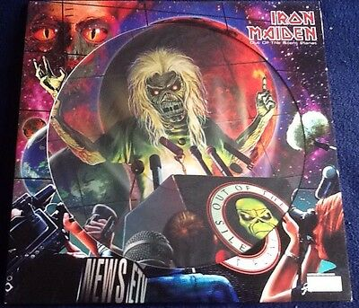 """IRON MAIDEN -Out Of The Silent Planet- 12"""" Picture Disc Individually numbered"""