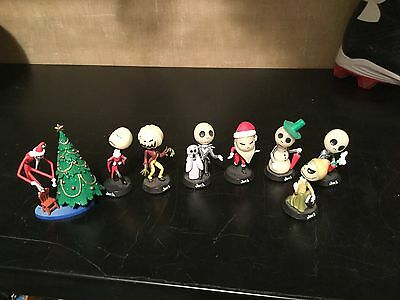 Nightmare Before Christmas Lot - bobble heads