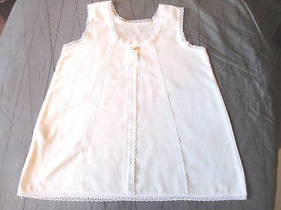 Vintage Mothercare pretty Baby girls white cotton Petticoat 3 - 6 months  90cm