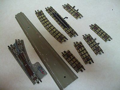 hornby meccano track parts lot
