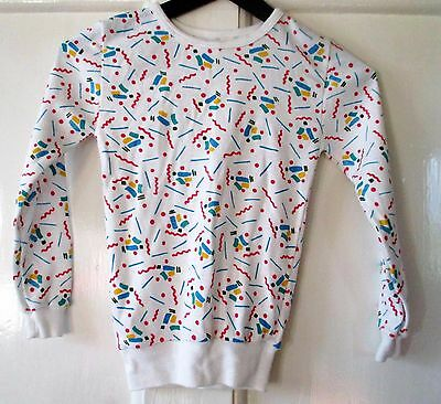 Vintage Retro Marks  Spencers  long sleeve  t-shirt top  cm height age 7-8