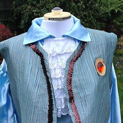 Pantomime Theatre King, Prince, Regal Or Squire Breeches, Tunic, Cravat & Shirt