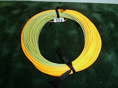 LOOP FLY FISHING TROUT LINE - WF2F #2 Floating - Green/Orange - NEW