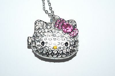New Hello Kitty Sanrio License Locket Pendant Necklace
