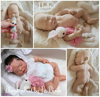 """BLANK  SILICONE KIT    Halle  """"""""""""""""special offer""""""""""""   reborn doll reborn baby"""