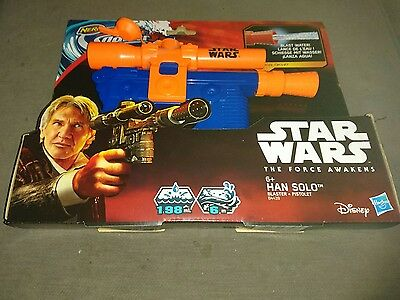 Starwars The Force Awakens Han Solo Water Blaster by Nerf