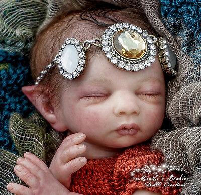 Reborn Baby Laila Fairy By Shawna Clymer @ With Tummy Plate & Body @ LE 350@11""