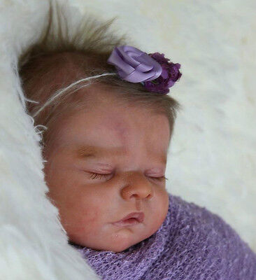 "New Reborn Baby Doll Kit Mia By Heike Kolpin @ Limited Edition 400 @ 17"" @"