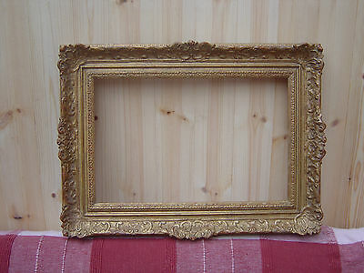 """ORNATE VINTAGE GILT FRAME 22"""" x 16"""" - PICTURE - PAINTING - MIRROR"""
