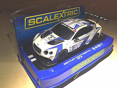 Brand New, Boxed & Unused Scalextric C3515 Bentley Continental Gt3