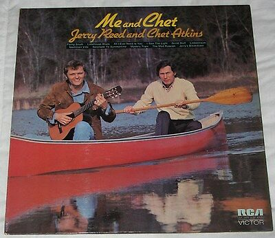Jerry Reed & Chet Atkins - Me And Chet. (Uk, 1972, Rca Victor, Lsa 3091)